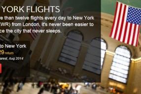 Oferta noua de bilete de avion pentru New York si Montreal