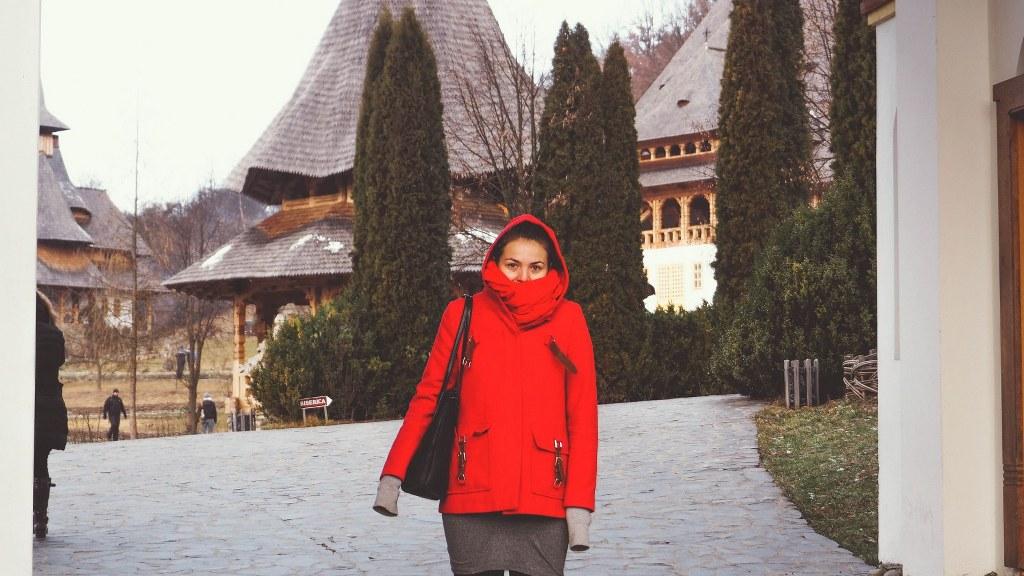Intrare Manastirea Barsana
