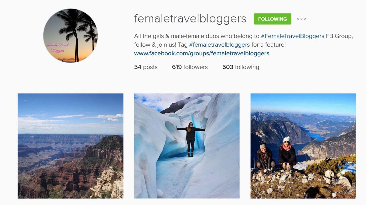 femaletravel bloggers instagram_1280x720