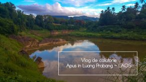 Vlog de călătorie – apus în locul preferat din Luang Prabang
