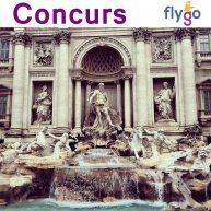 La patru ani de Lipa-Lipa câștigă cu Fly-Go un City Break de două persoane la Roma