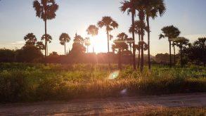 Jurnal de călătorie în poze. Apusul în Bagan!