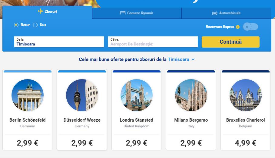 promoție-globală-Ryanair-bilete-de-la-299-euro